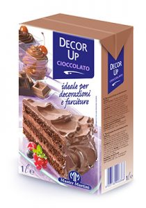 Creme Vegetali UHT Zuccherate Decor Up Cioccolato - Master Martini